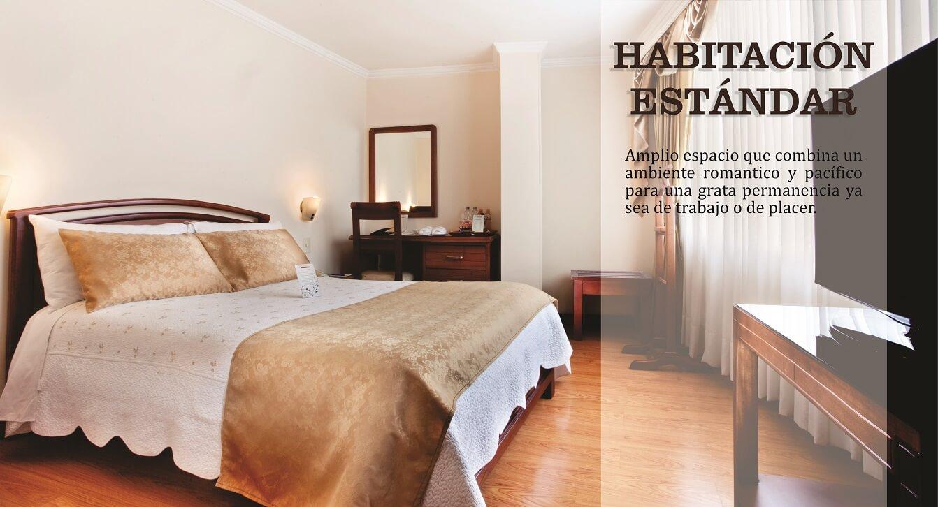 Hotel fernando plaza hotel en pasto for Habitacion familiar estandar